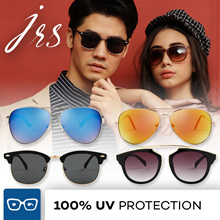 JRS temple arms UV 400 Protection Sunglasses