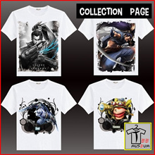 [Tee Museum] Unisex Designer Graphic Tee Shirt | LOL League Of Legends Theme