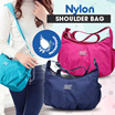 WATERPROOF NYLON SHOULDER BAG - TAS SLEMPANG - 7 COLOUR - READY STOCK