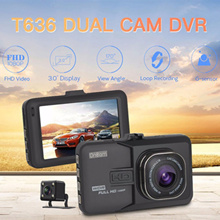 2017 Newest Mini Car DVR Camera Camcorder Dual Lens Dash Cam 1080P Full HD G-sensor Night Vision
