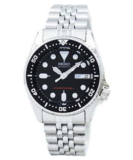 [CreationWatches] Seiko Divers Automatic 200M 21 Jewels Small-Size SKX013K2 Mens Watch