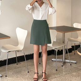 [CHERRYKOKO官方旗艦店] 淑女風迷你裙 / bicolors skirt