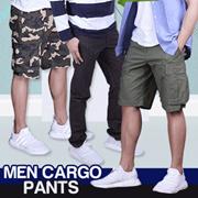 [NEW ARRIVAL] COUP S5 MEN CARGO SHORT PANTS / MEN PLAIN SHORT PANTS / MEN STRAIGHT LONG PANTS