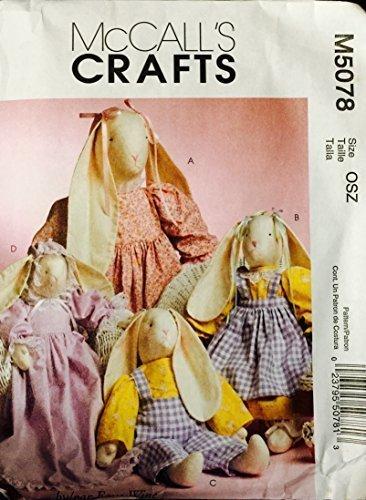 Qoo10 - (McCall s) McCall s Crafts Sewing Pattern M5078 - Stuffed ...
