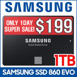 [SUPER SALE!!!!]Samsung SSD 860 EVO 1TB 2.5 Inch SATA III Internal SSD (MZ-76E1T0BW)
