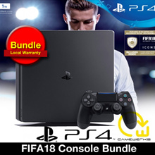 [GameWerks] PS4 FIFA18 Console Bundle (Local Warranty) 500GB