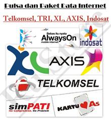 Pulsa Isi Ulang Telkomsel XL AXIS dan Indosat Rp. 100.000