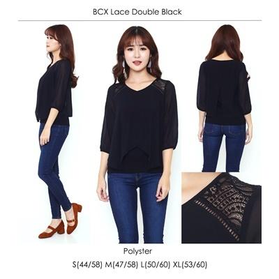 BCX Lace Double Black