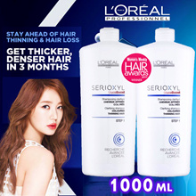 ❤ LOreal SERIOXYL Shampoo | Conditioners | Denser/Thicker Hair Serum