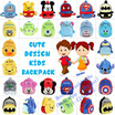 Cute Kid Backpack 30 Types While Stock Last !! Ready Stock!! Limited Stock !!