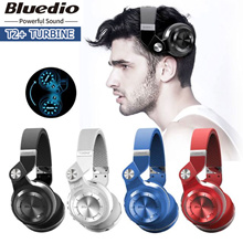 BLUEDIO T2+ Turbine Foldable Wireless Bluetooth 4.1 Stereo Headset