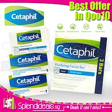 [BEST OFFER] CETAPHIL Cleansing Soap Bar for Body | Face - 85g / 127g [Made in Canada]