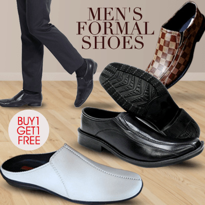 [BUY 1 GET 1] ?Formal Men Shoes?High Quality/Comfort?Available in 11 Colours?Stylish Men Shoes? Deals for only Rp125.000 instead of Rp125.000