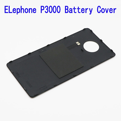 new product ffd49 2f9bc elephone p3000 p3000s mobile smartphone black white color original back  shell battery cover case