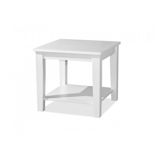 Qoo10 Melody Solid Wood Side Table