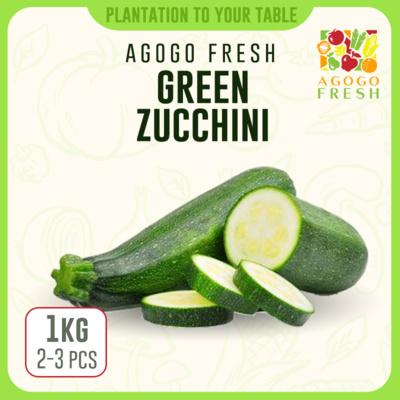 Green Zucchini (1kg) 2-3pcs