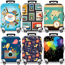 High Quality Elastic Suitcase Cover/ Luggage Protector/Travel Essentials/Transparent PVC cover