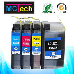 McGee compatible brother LC669XL LC665XL cartridge MFC-J2320 MFC-J2720 Hong Kong version printer