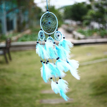 Home Dream Catcher Net With feather Colorful Hanging Decor Ornament Gift