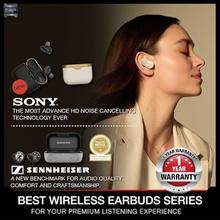 Best Earbud Series - Sennheiser Momentum True Wireless / Sony WF-1000XM3 / Jabra Elite 65T Active