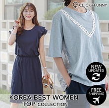 CLICKnFUNNY🌿 New Updated! KOREA BEST Women TOP Collection Daily Look