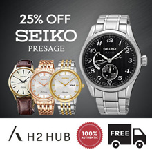 [BEST SELLER] 25% OFF! SEIKO PRESAGE WATCHES! 100% AUTHENTIC! FREE SHIPPING + 1 YEAR WARRANTY!