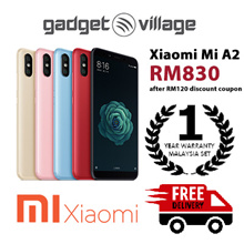 [RM830 After Applied Digital Coupon] Xiaomi Mi A2 64gb/128gb - Official Xiaomi Malaysia Warranty