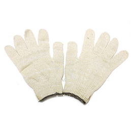 10 Pair Polyester Inspection Washable Glove Liners M-L Full Finger Coin Jewelers