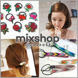 FASHION ACCESSORIES ($0.5~$1.9) / Hair Accessories / Hairband / Headband / Hairclip / Hair tie / pin