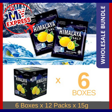 ⚡FEB SPECIAL⚡READY STOCK Himalaya Salt Sports Candy 6/12 box - Wholesale Bundle - Extra Cool Lemon (1 carton