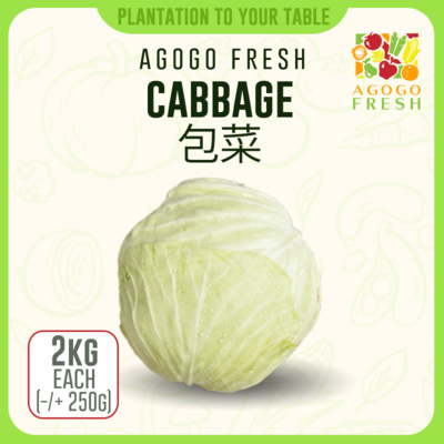 Cabbage (2kg)