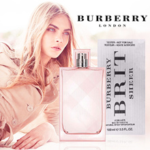 APPLY 20% OFF+ FREE QXPRESS! Burberry Assorted Perfume For Him EDT 100ml/ For Her BRIT SHEER  EDT Tester Packaging