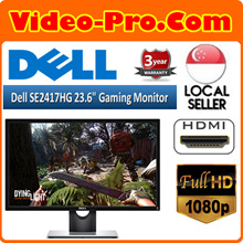 DELL SE2417HG / 24 Inch Gaming LED Monitor 1920 x 1080 60Hz 2ms | LG 24MP48HQ 23.8-Inch Full HD IPS Display / 1920x1080 IPS Monitor w Screen Split 2.0. 3 Year Warranty!