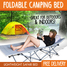 Safari bed / Camping Bed / Foldable bed / Folding bed **Lightweight** ★Free Shipping★ IN STOCKS NOW★