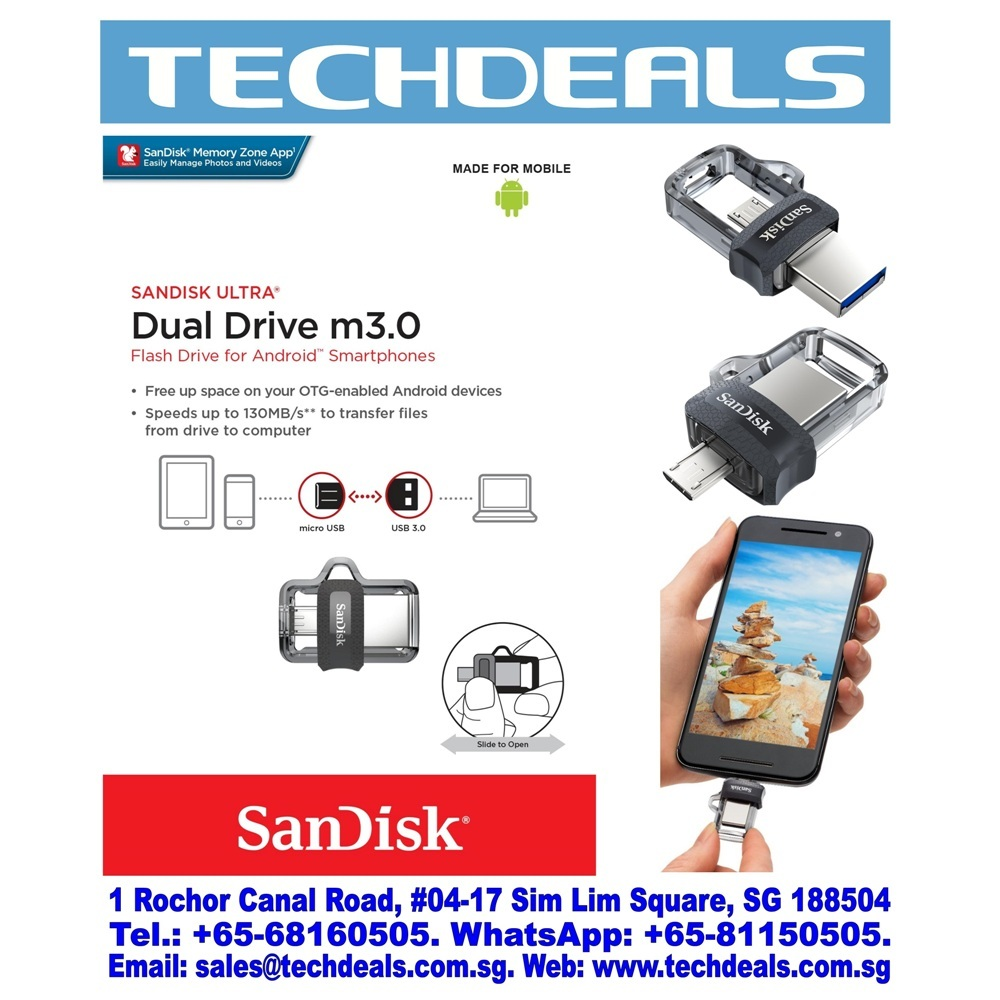 Qoo10 Sddd3 064g G46 Mobile Accessories Sandisk Otg 32gb Usb Type C 31 Ultra Dual Drive Show All Item Images