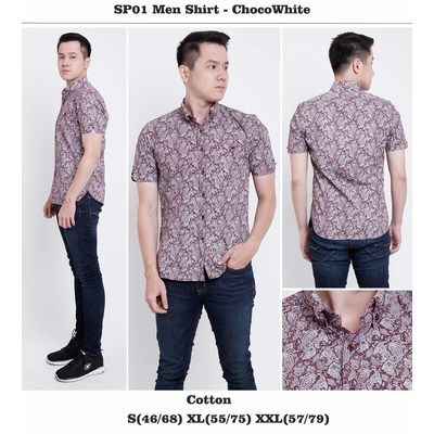 SP05 Menshirt Burgundy