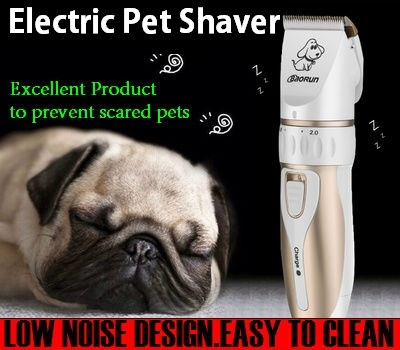 BaoRun Professional Pet Cat Dog Hair Trimmer Rechargeable Pet Shaver