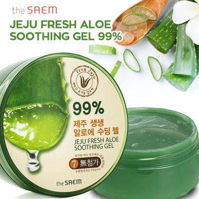 Jeju Fresh Aloe Soothing gel 99% Deals for only Rp109.000 instead of Rp109.000