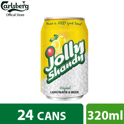 Qoo10 Jolly Shandy Lemon Can 320ml Pack Of 24 Drinks Sweets