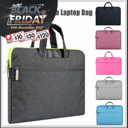 Waterproof Fabric Laptop Sleeve Case Bag for 11 13 15 15.6 inch Macbook Air/Pro ASUS Dell Acer Bags