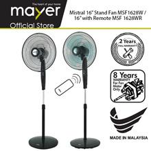"""Mistral 16"""" Stand Fan MSF1628W/ 16Inch Stand Fan w Remote MSF1628WR"""
