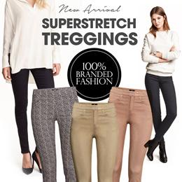 SuperStretch Treggings_4Colors_Size 2-16_Super Comfortable Material_High Quality_Jegging_legging_celana wanita_pakaian wanita_celana panjang_pants