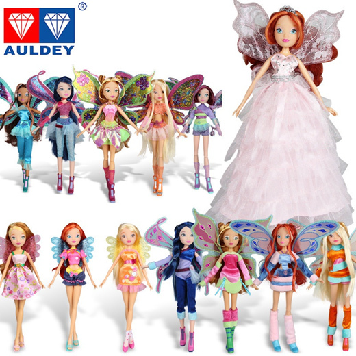 Qoo10 Believix Fairylovix Fairy Winx Club Doll Rainbow Colorful Girl Action Toys