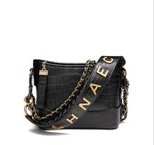Bag / New fashion small fragrance wind neer small wandering bag crocodile leather handbag