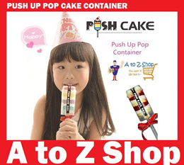 ★★★Push Up Pop Cake★★★ Containers (20pcs/Set) Birthday Ideas Party Baking Molds Packs Desert Cupcake