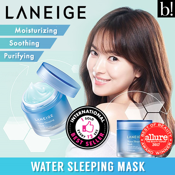 LANEIGE BEST SELLER100% AUTHENTIC!!! Laneige Water Sleeping Mask 70ml Deals for only Rp329.000 instead of Rp329.000