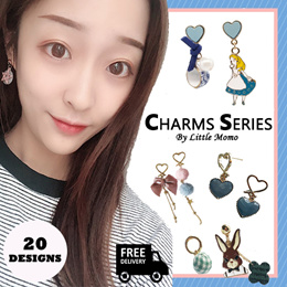 [UNIQUE DESIGNS] LITTLE MOMO  CHARMS SERIES ❤️ KOREAN STYLE EARRINGS
