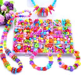 DIY Children Kids Girls Bracelets Girls Necklace Jewelry Girls Beads Toy Beads