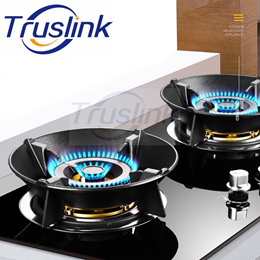 High Quality Cast Iron Universal Cast Iron Air Blocker Fire Concentrate Wok Pan Support Rack Stand
