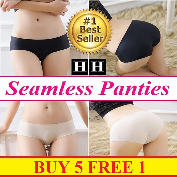 BUY 5 FREE 1Super Comfy?Modal / Bamboo / Seamless Panty?Premium Quality?Fast Delivery